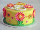 مدل تزئین کیک تولد دخترانه