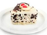 کیک شکلاتی به صورت قلب