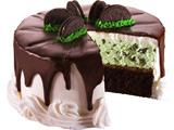 دسر کیک شکلاتی کرم دار