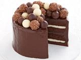 عکس کیک شکلاتی ساده