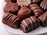 شکلات کاکائویی خوشمزه