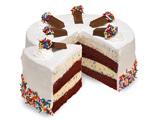 مدل کیک خامه ای خانگی چند لایه