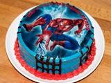 کیک تولد مرد عنکبوتی
