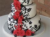 کیک عروسی سه طبقه