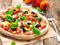 پیتزا لذیذ ایتالیایی