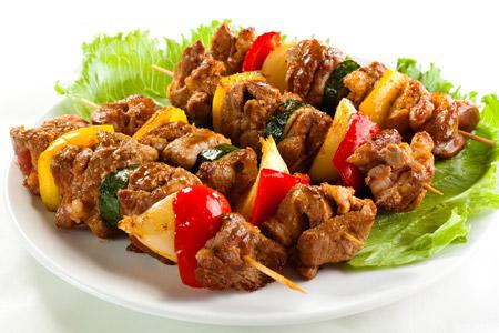 کباب کوبیده قفقازی شیشلیگ kebab kobideh gafgazi