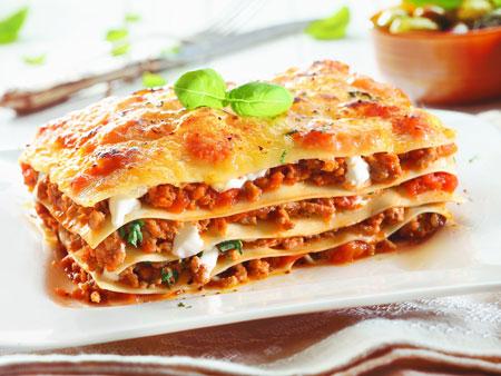 عکس لازانیا خیلی خوشمزه لذیذ lasagna food wallpaper