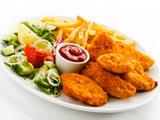 مرغ سوخاری با سس کچاپ