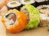 عکس غذای ژاپنی سوشی