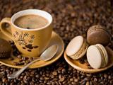 فنجان قهوه بیسکویت کرمدار