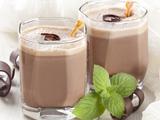 عکس نوشیدنی شیر کاکائو