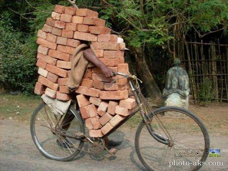 امکانات جدید دوچرخه های هندی india bicycle funny