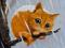 گربه کارتونی ملوس تنها