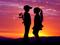 عکس اولین عشق در غروب