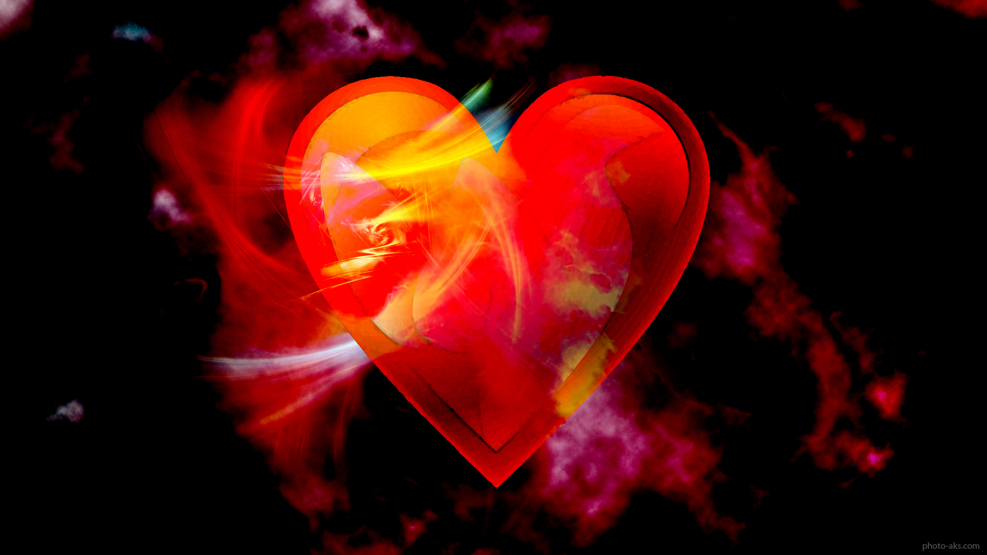 Love Wallpapers Moving : ??? ????? ??? ???? ??????? love abstract heart wallpaper