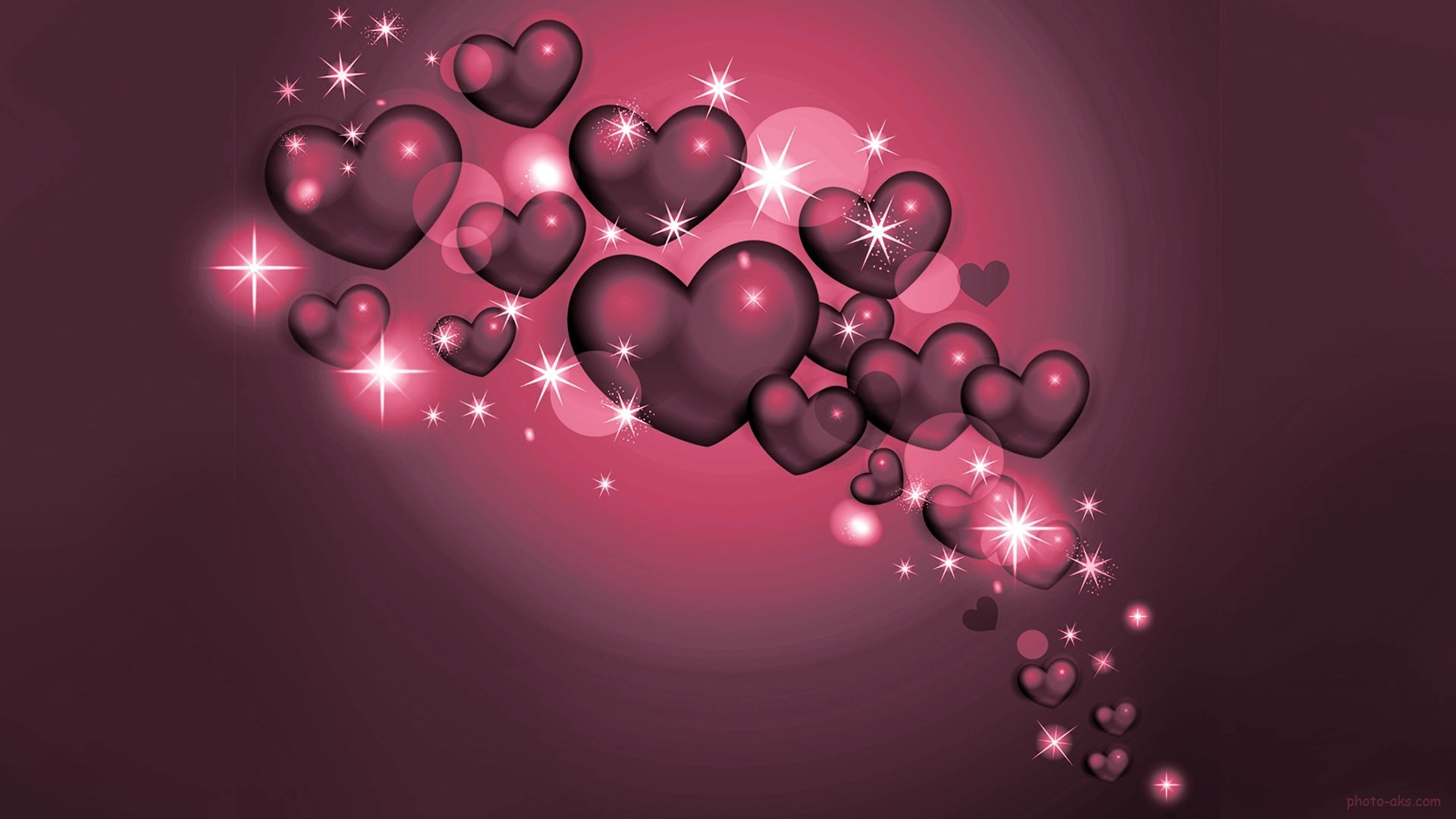Love Desktop Wallpaper 3d : Pin Pin 3d Love Heart Free Wallpapers On Pinterest on Pinterest
