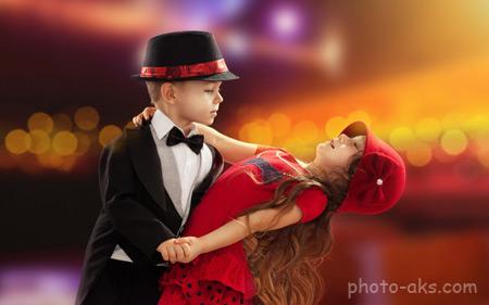 رقص دختر و پسر در عروسی child in love dance