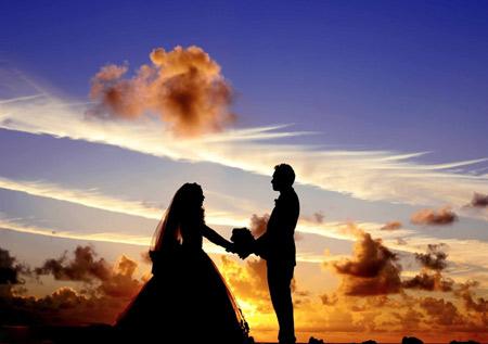 عکس زیبا از عروس داماد aks aroos damad