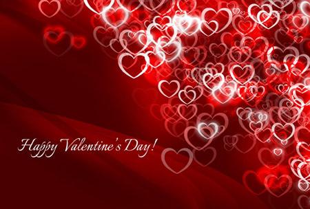 کارت پستال تبریک روز ولنتاین happy valentine day