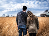 عکس عاشقانه زن مرد کنار هم
