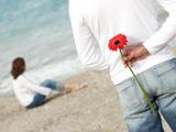تقدیم گل پسر به دختر