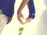 دسته به صورت قلب عروس داماد