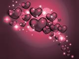 والپیپر زیبا قلب های عاشقانه
