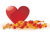 عکس عاشقانه قلب قرمز