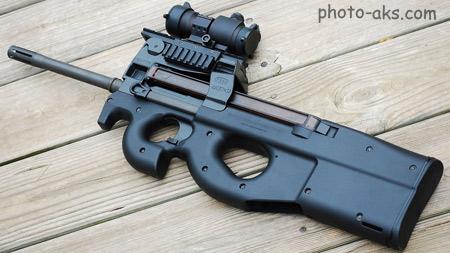 مسلسل دستی نیروهای امنیتی ps90 aimpoint weapone