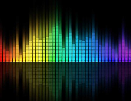 اکولایزر موسیقی رنگارنگ music equalizer wallpaper