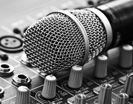 میکروفون ضبط صدا music microphone