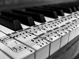 عکس کیبورد پیانو