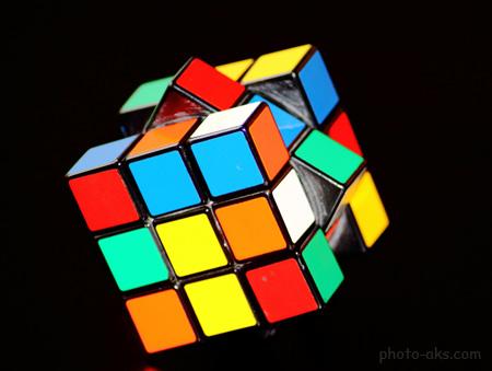 معکب بازی فکری روبیک rubiks cube puzzel