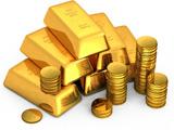 عکس شمش و سکه طلا
