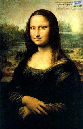 نقاشی مونالیزا لئوناردو داوینچی monaliza davinchi