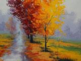 نقاشی فصل پاییز امپریالیسم
