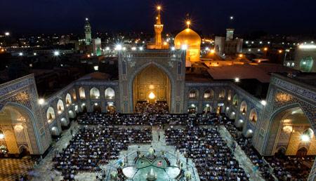برگذاری مراسم حرم امام رضا marasem haram reza