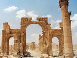 عکس شهر باستانی پالمیرا سوریه