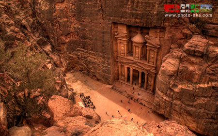 شهر باستانی پترا در اردن petra city in jordan