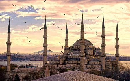 عکس مسجد سلطان احمد استانبول sultan ahmed istanbul