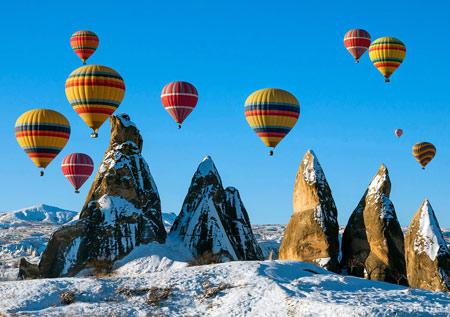 فستیوال بالون کاپادوکیا ترکیه cappadocia balloon