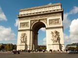 عکس بنای طاق پیروزی پاریس
