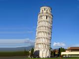 عکس برج کج پیزا ایتالیا