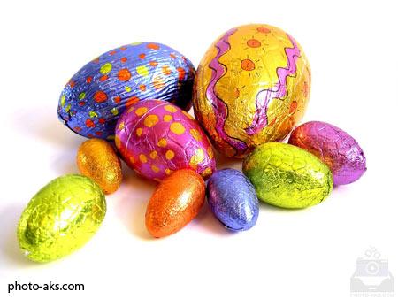تخم مرغ های رنگی colored egg