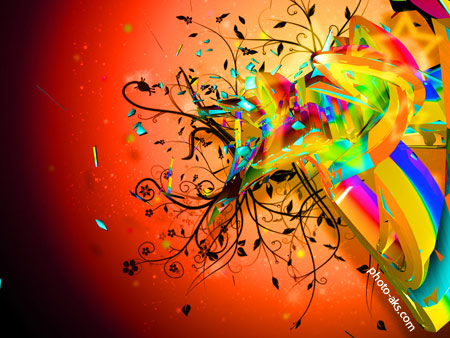 والپیپر های رنگی آبسترکت abstract colorful wallpapers