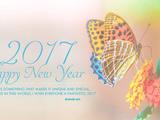 والپیپر زیبا تبریک سال 2017