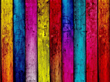 تخته های رنگارنگ