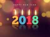 کارت پستال تبریک سال 2018