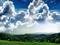 منظره آسمان ابری