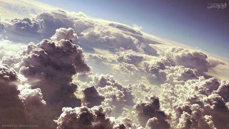 ابرها در آسمان cloudes sky landscape